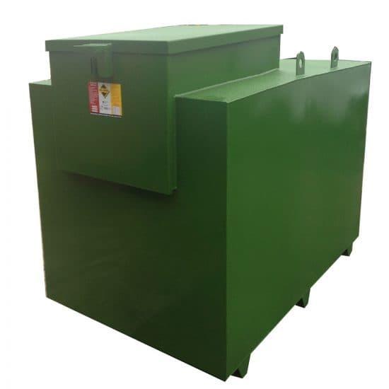 Image of 2500 Litre Bunded Steel Dispensing Tank