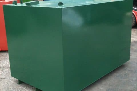 Image of 400 Gallon Bunded Steel Tank