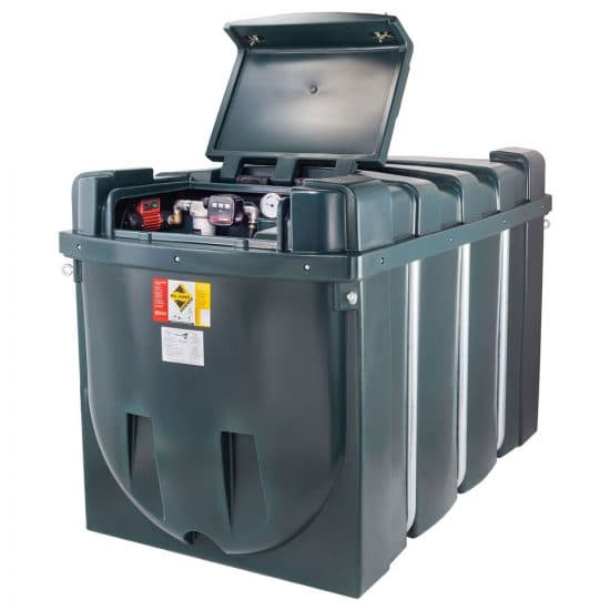 Image of Deso H2500CDD Bunded Diesel Fuel Dispensing Tank